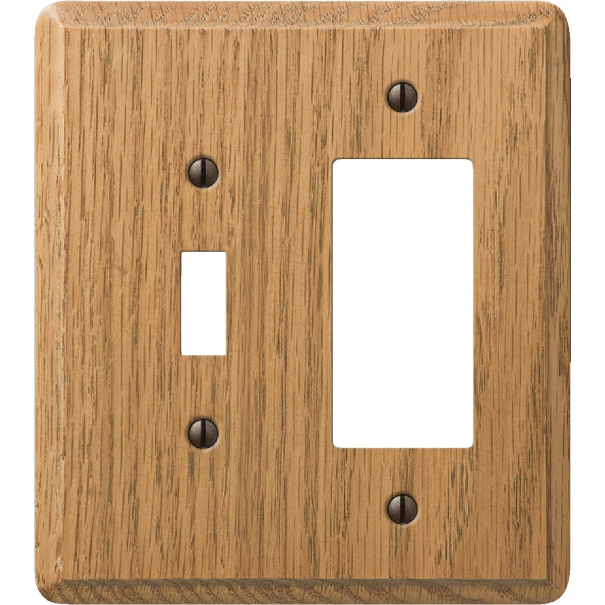 OAK COMBO WALL PLATE - 926L by Jackson Deerfield Mf