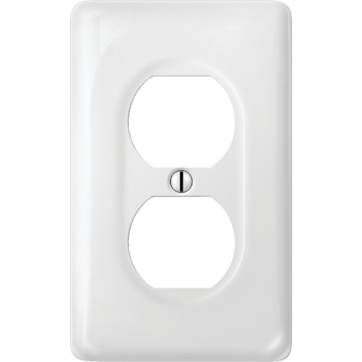 WHT OUTLET WALL PLATE - 988CW by Jackson Deerfield Mf