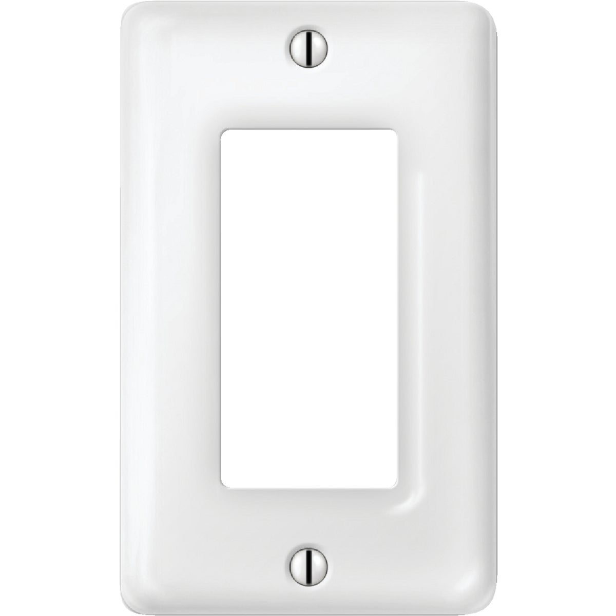 WHT PORC GFI WALL PLATE - 987CW by Jackson Deerfield Mf