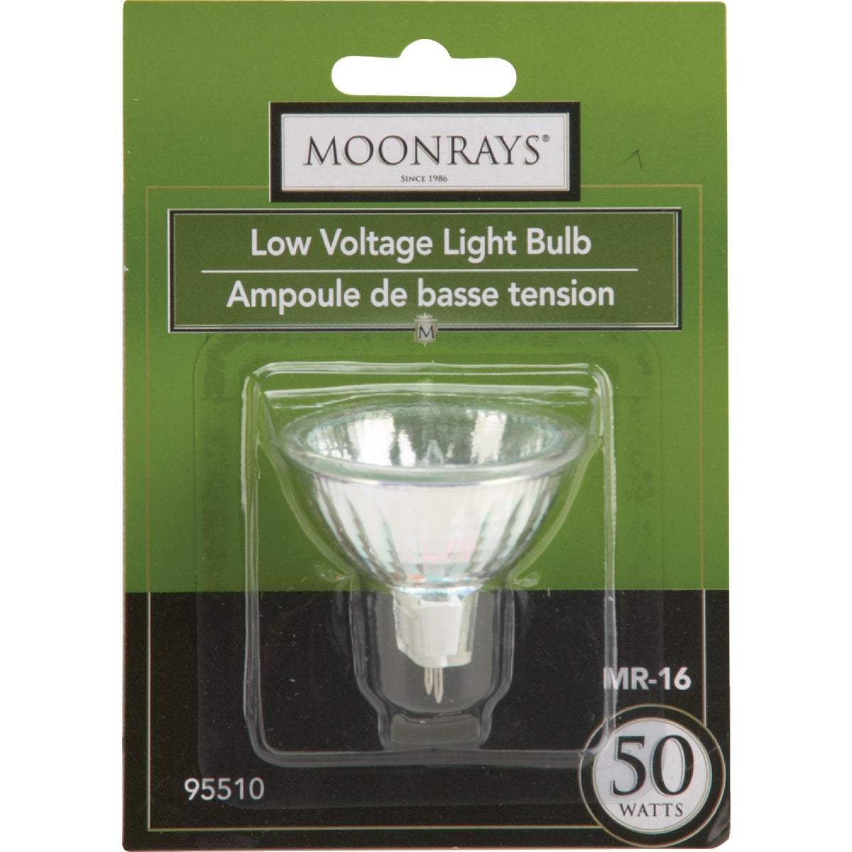 50W MR16 HALOGEN BULB - 95510 by Woods Wire Coleman