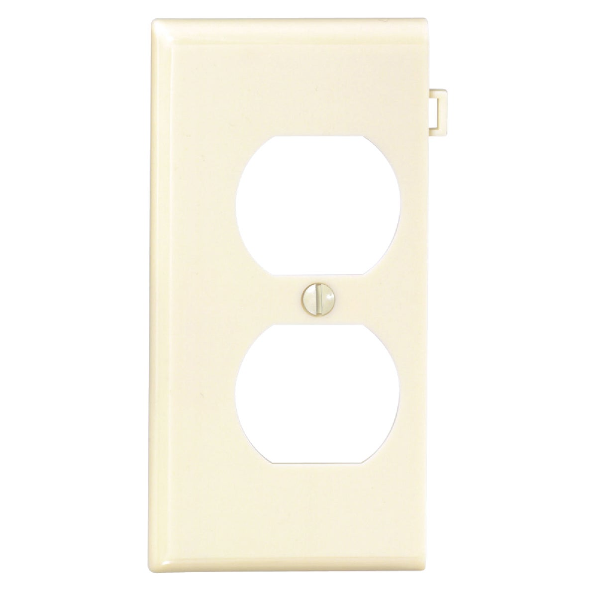 IV DUPLEX END PLATE - 924-0PSE8-I by Leviton Mfg Co