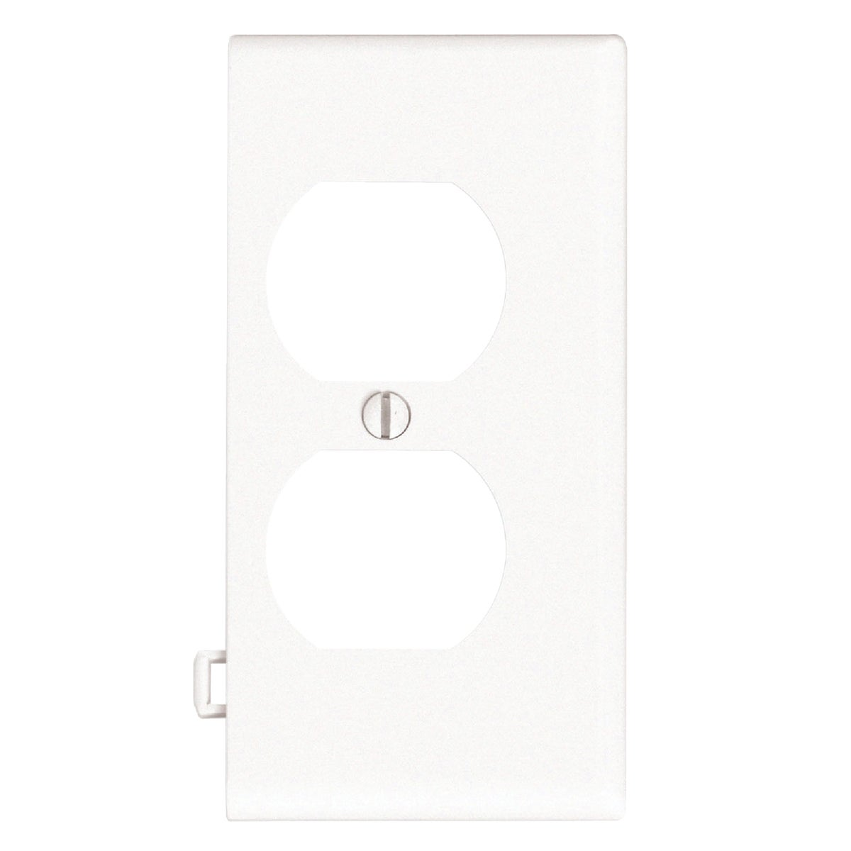 WHT DUPLEX END PLATE - 905-PSE8-W by Leviton Mfg Co