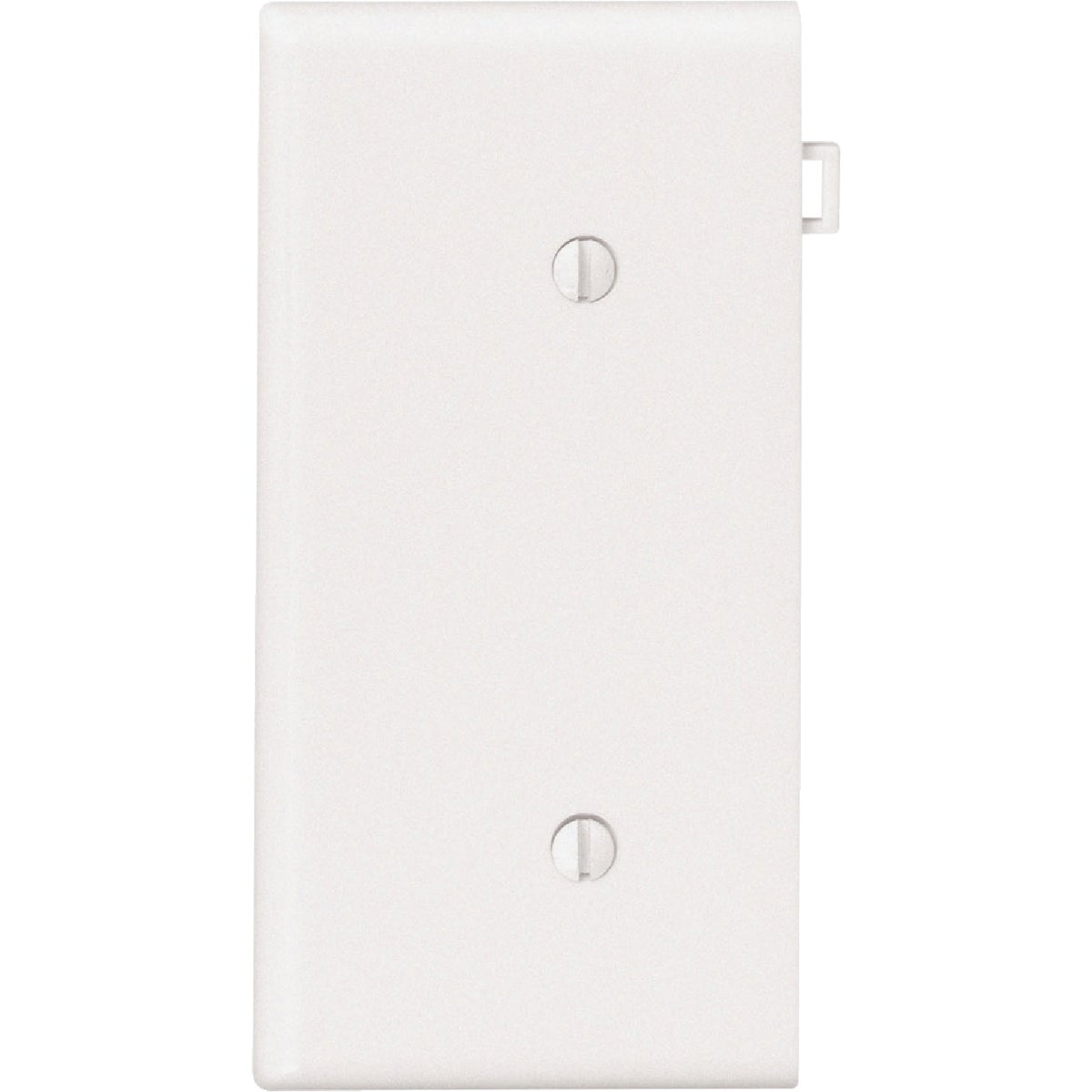 WHT BLANK END PLATE - 006-PSE14W by Leviton Mfg Co