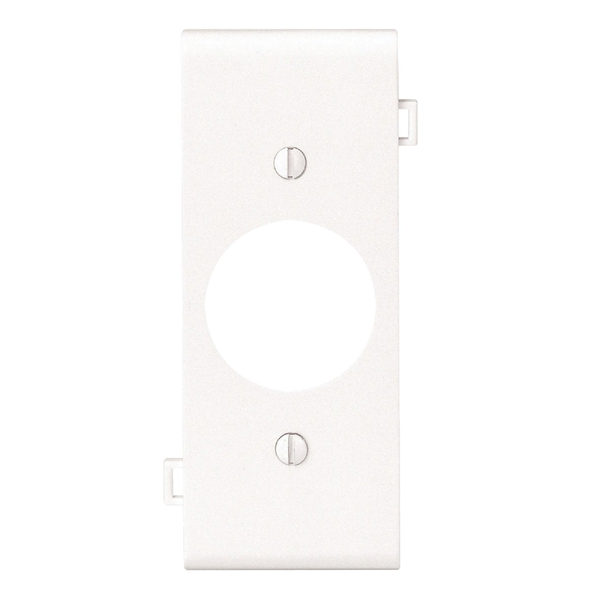 WHT SINGLE CENTER PLATE - PSC7W by Leviton Mfg Co