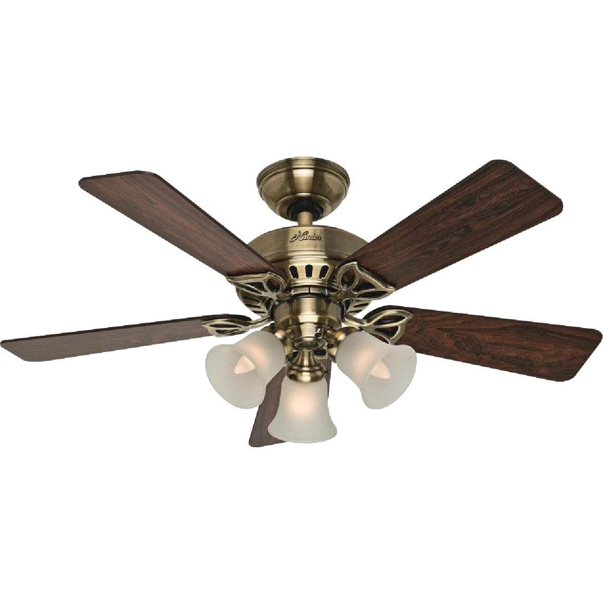 "42"" AB CEIL FAN W/LIGHT - 53078 by Hunter Fan Co"