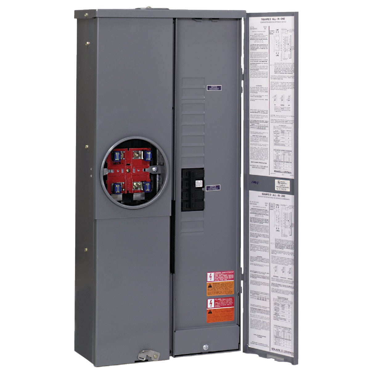200A METER BREAKER PANEL - SC816F200S by Square D Co