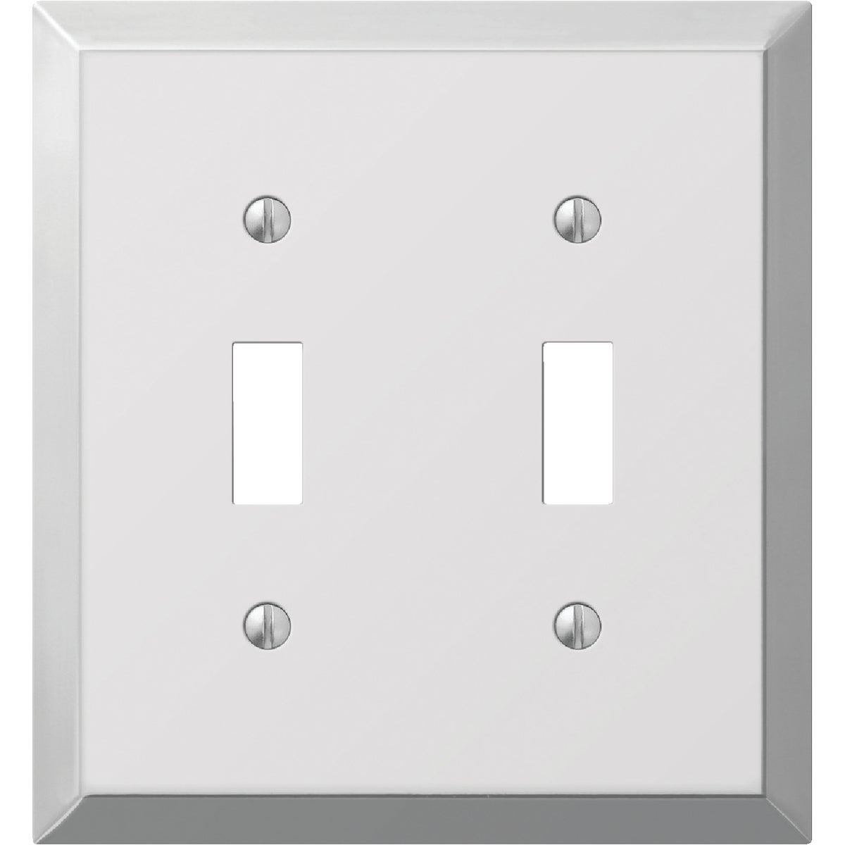 CHR 2-TOGGLE WALL PLATE - 9CS102 by Jackson Deerfield Mf