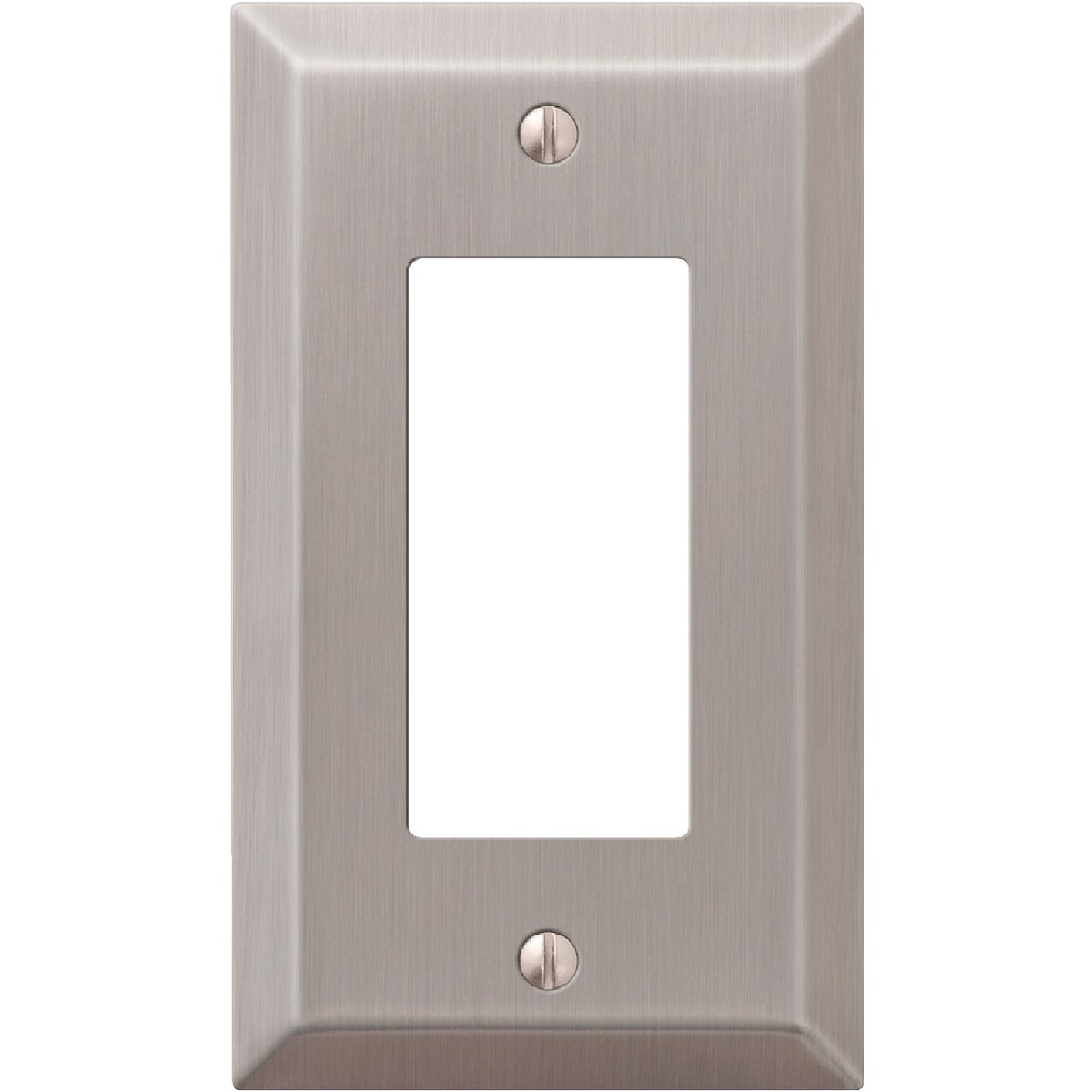 BR NICKEL GFI WALLPLATE - 9PT117 by Jackson Deerfield Mf