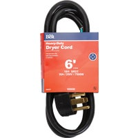 Woods Import 6' 10/4 DRYER CORD 550769