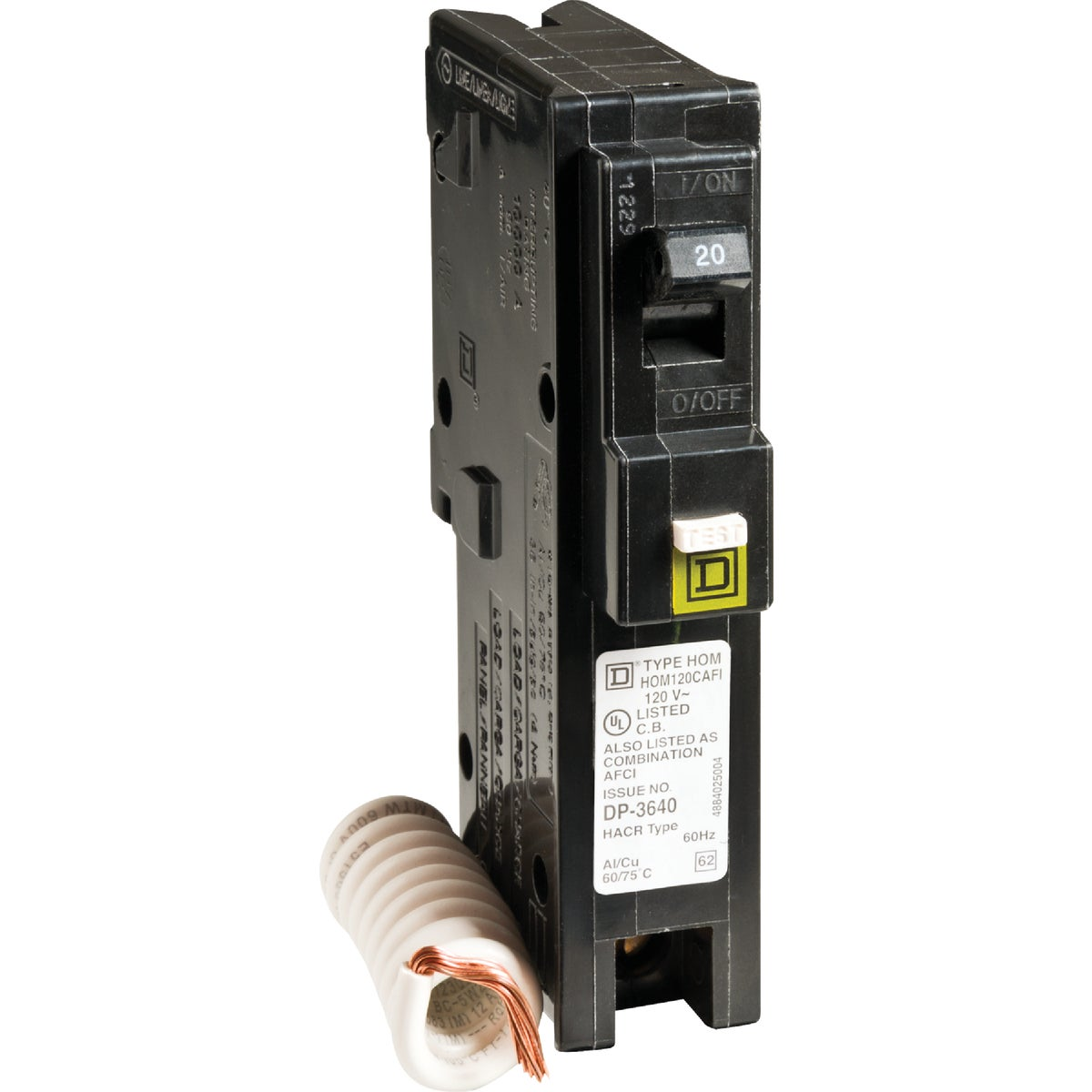 COMBO ARC FAULT BREAKER - HOM120CAFIC by Square D Co