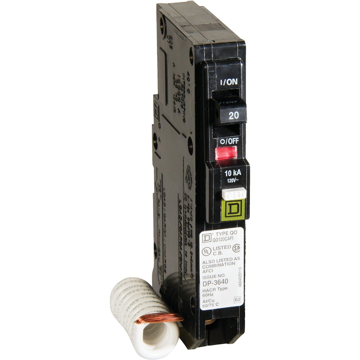 COMBO ARC FAULT BREAKER - QO120CAFIC by Square D Co