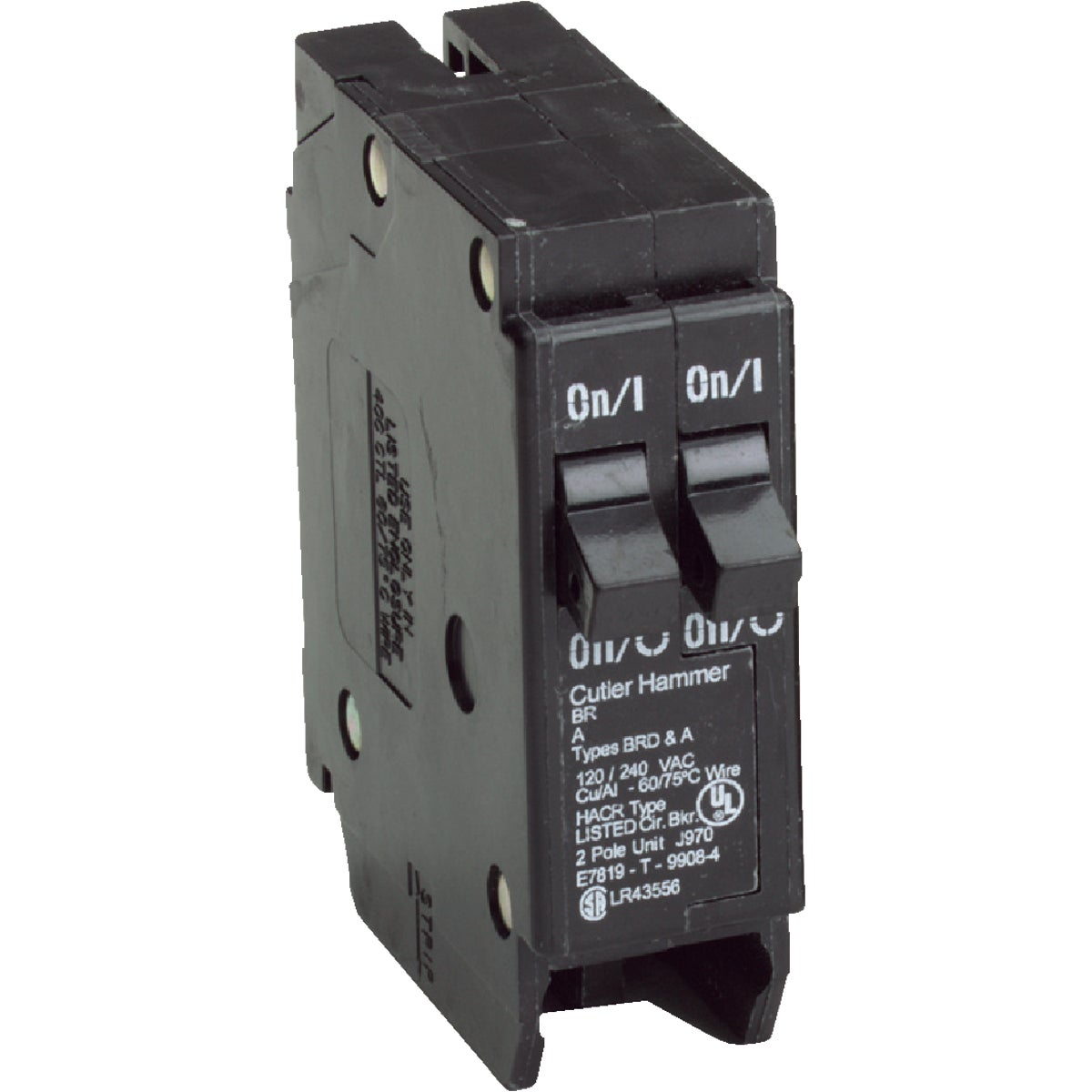 15A/15A CIRCUIT BREAKER - BR1515 by Eaton Corporation
