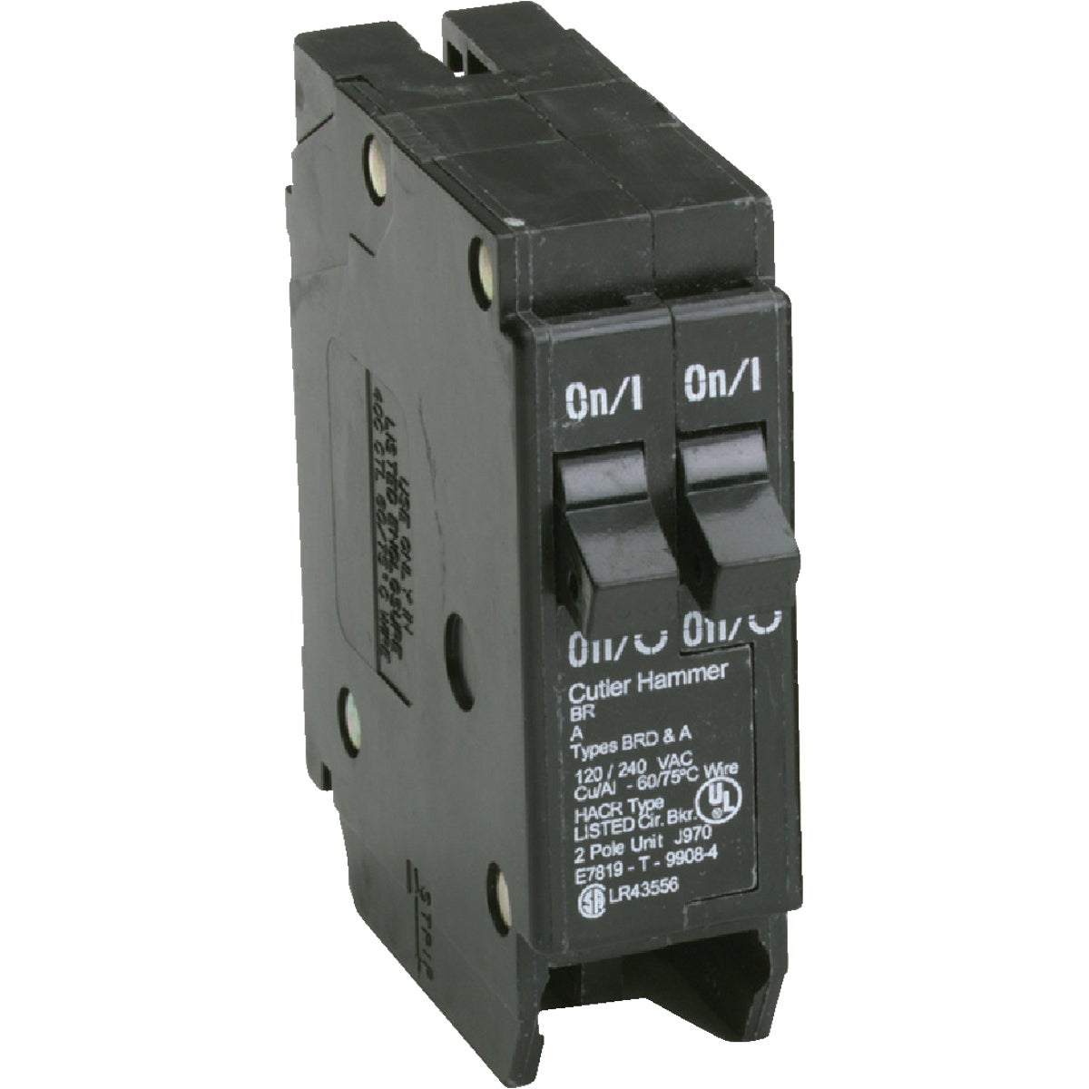 20A/20A CIRCUIT BREAKER - BR2020 by Eaton Corporation