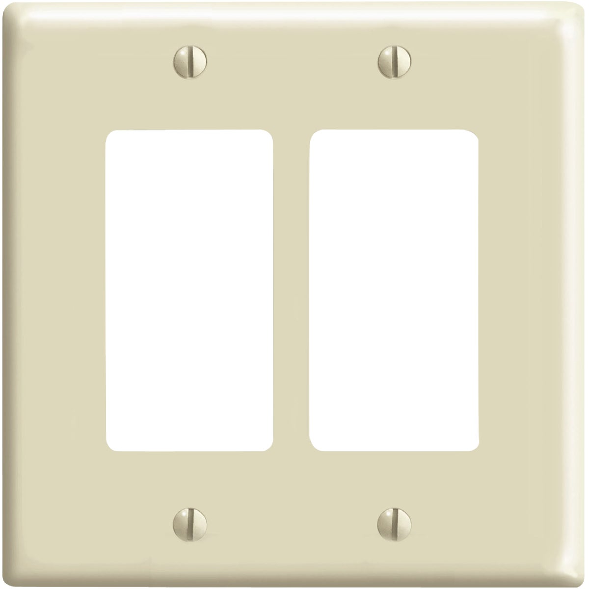 IV 2-GFI WALL PLATE - 80609I by Leviton Mfg Co