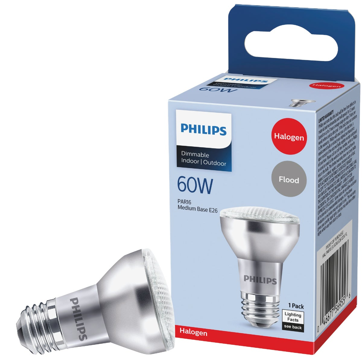 60W PAR16 FLD HALGN BULB - 47578 by G E Lighting