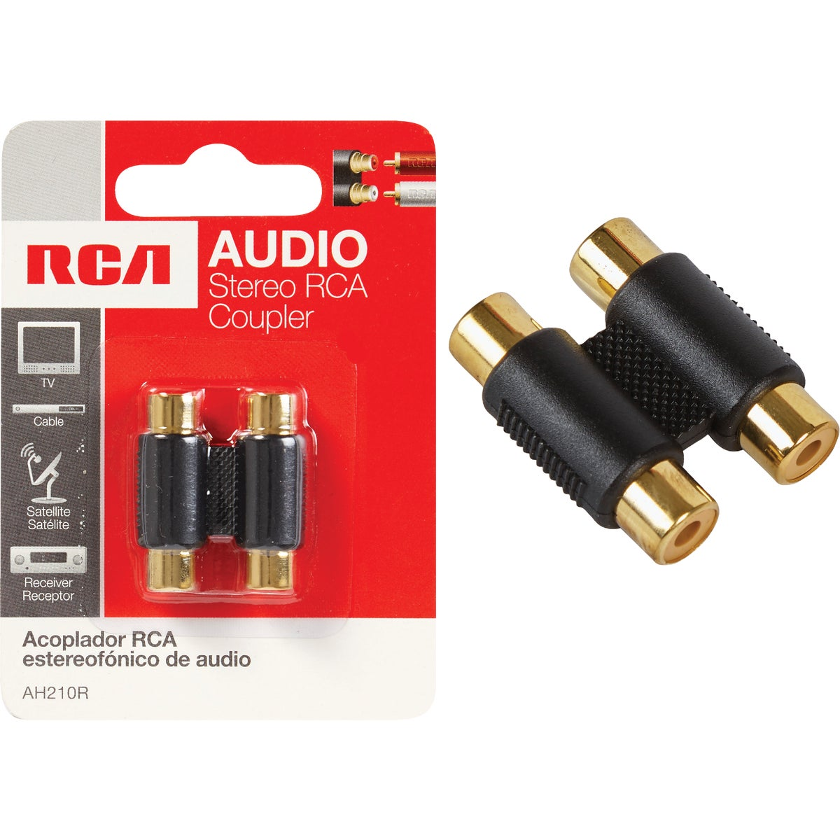 RCA CONNECTOR - AH210R by Audiovox Accessories