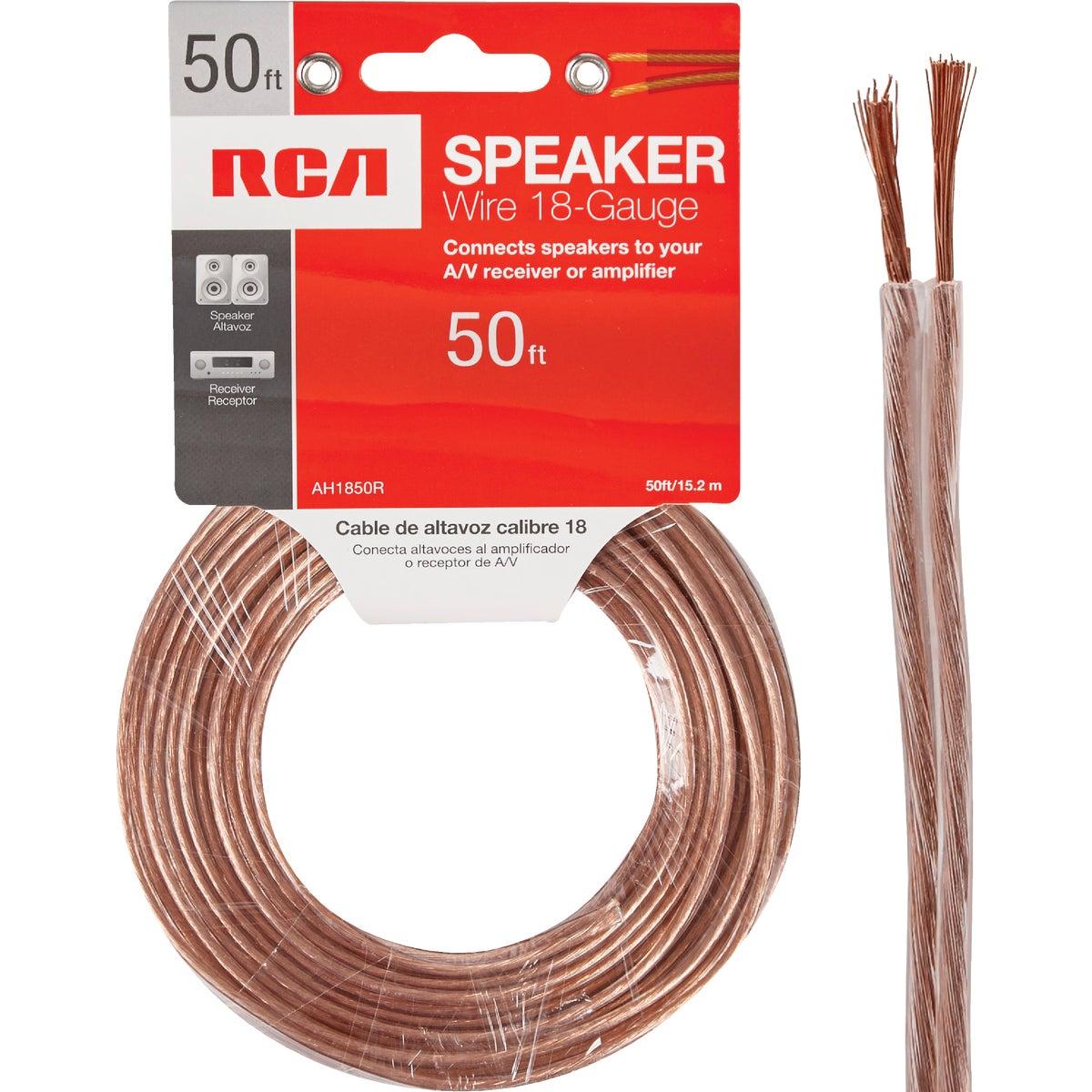 50' 18Ga Speaker Wire