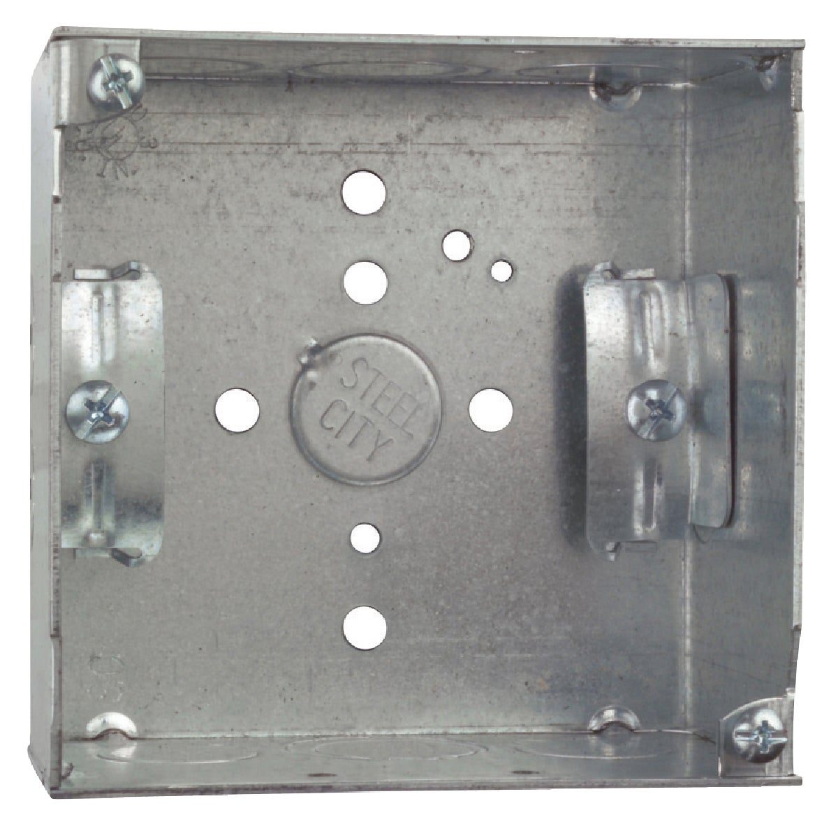 "4"" SQUARE BOX - 52171N by Thomas & Betts"