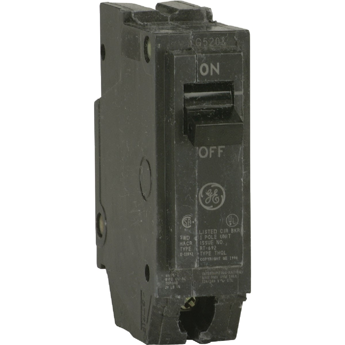 50A SP CIRCUIT BREAKER - THQL1150 by G E Industrial