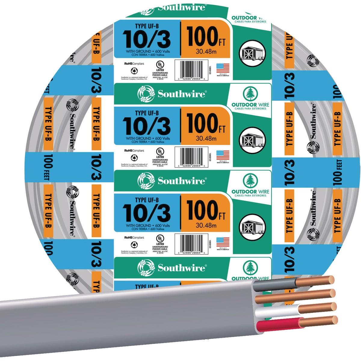 100' 10-3 UFW/G WIRE