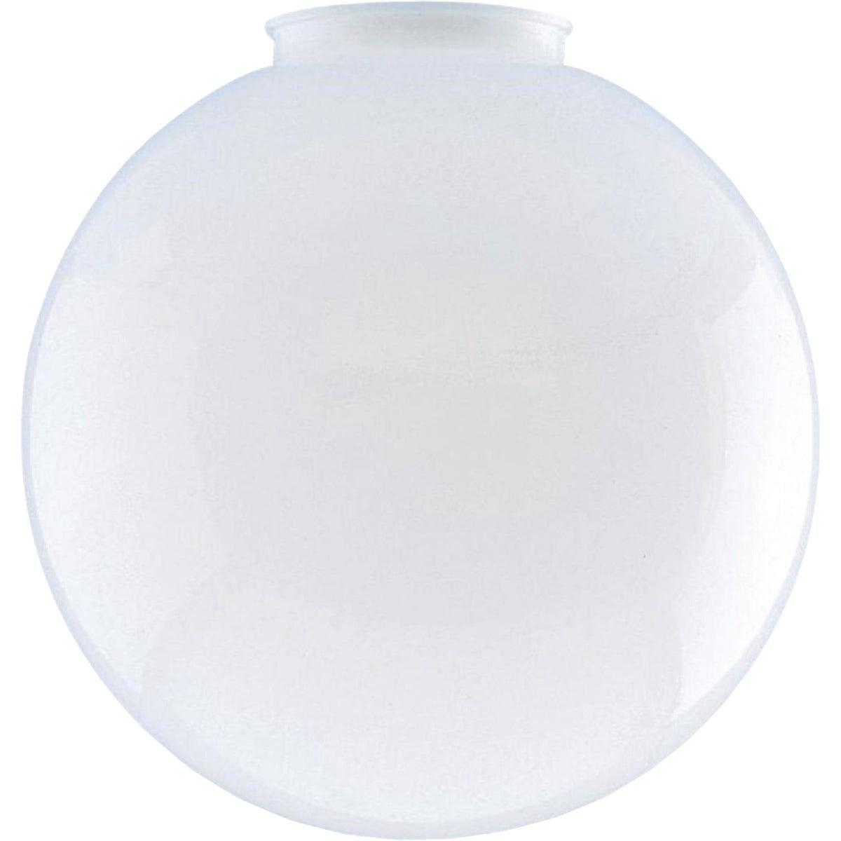 WHT ACRYLIC FIXTUR GLOBE - 81900 by Westinghouse Lightng