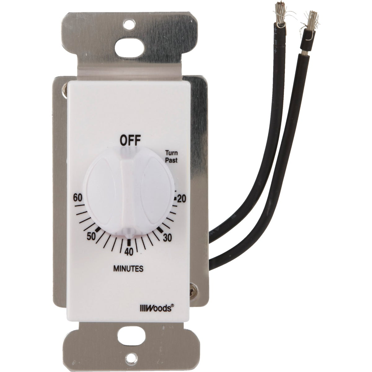 WH 60MINUTE SPRING TIMER - 59717 by Woods Wire Coleman