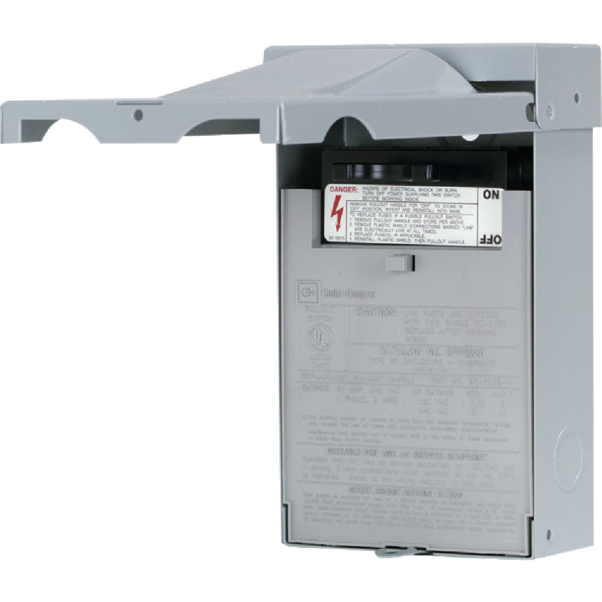 30A AC FUSED DISCONNECT - DPF221RP by Eaton Corporation