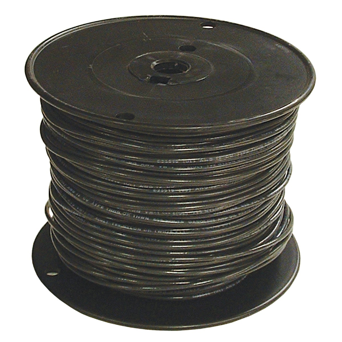 500' 1STR BLK THHN WIRE - 20504702 by Southwire Company