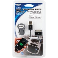 12 Volt USB Charger and Cable
