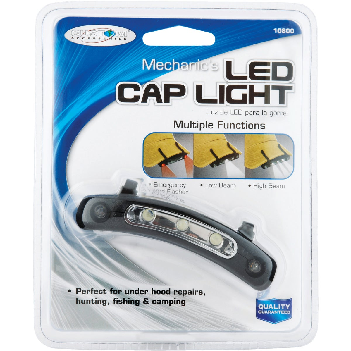 MECHANICS LED CAP LIGHT - 10800 by Custom Accessories