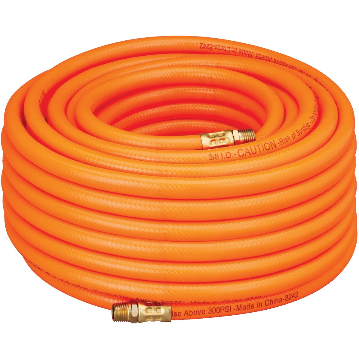 "3/8""X100' PVC AIR HOSE - 576-100A by Plews  Lubrimatic"