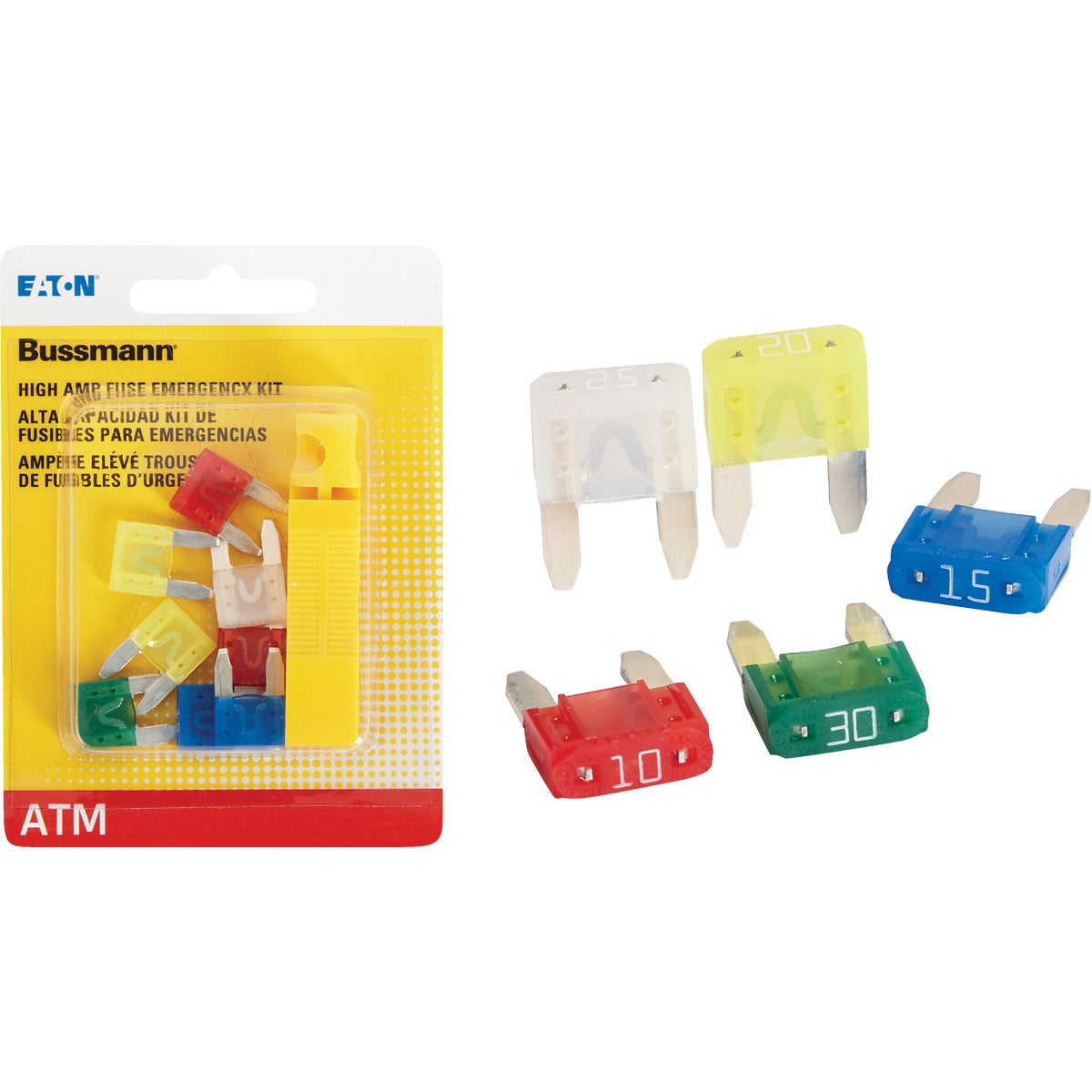 HIGH AMP ATM FUSE KIT - BP/ATM-AH8-RPP by Bussmann Cooper