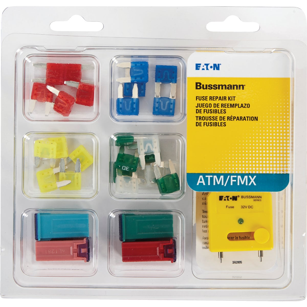 ATM AND FMX FUSE KIT - ATM-FMX-EK by Bussmann Cooper