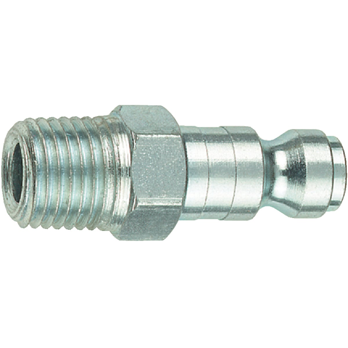 "3/8""T-F 1/4"" MNPT PLUG - 12-603 by Plews  Lubrimatic"