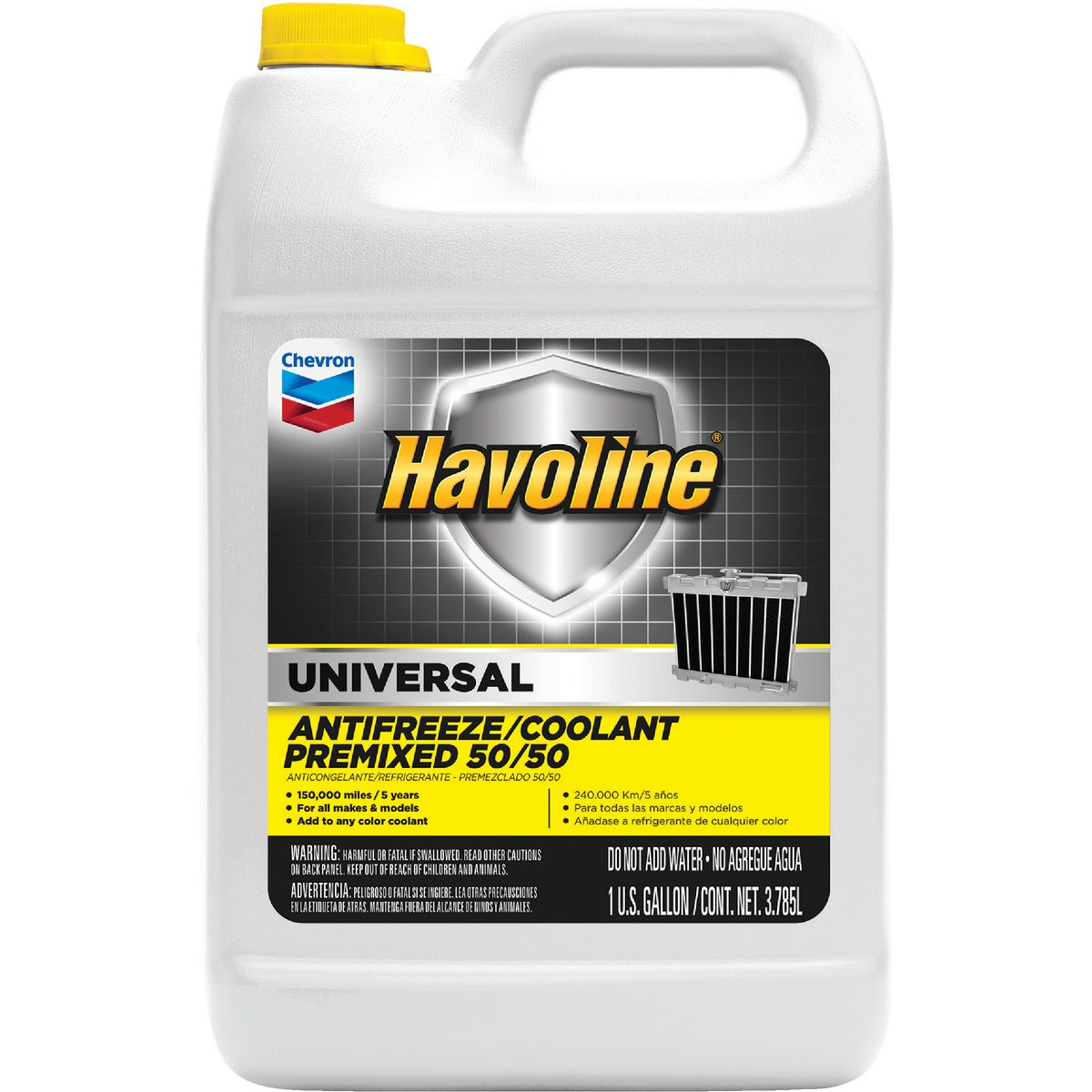50/50 UNIVRSL ANTIFREEZE - 227063497 by Chevron Texaco