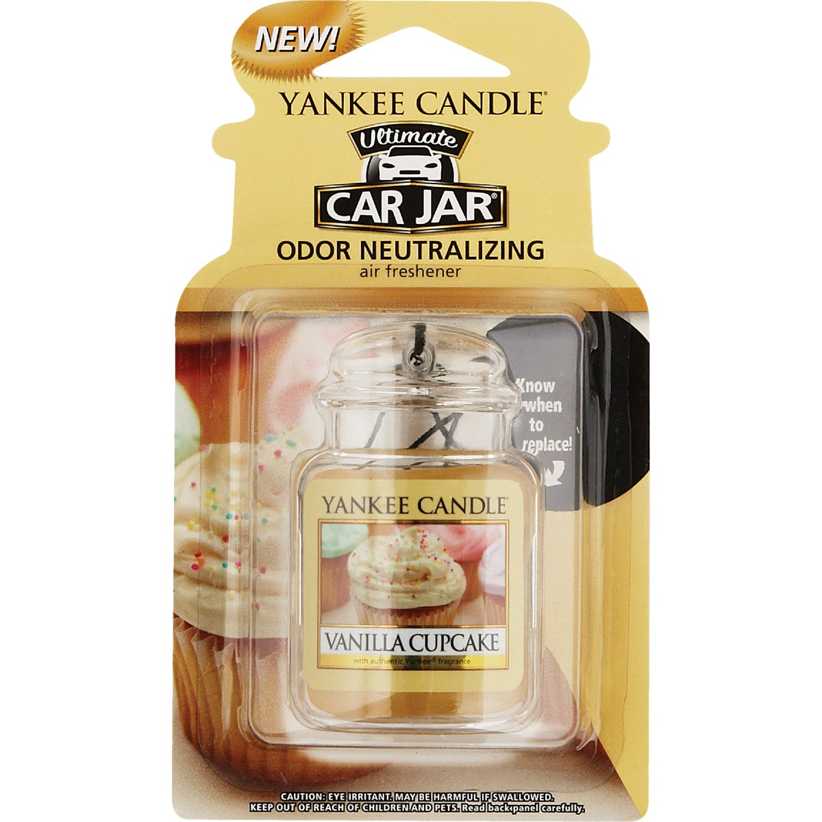 VANILLA CUPCAKE CAR JAR - 1220923 by Yankee Candle Co