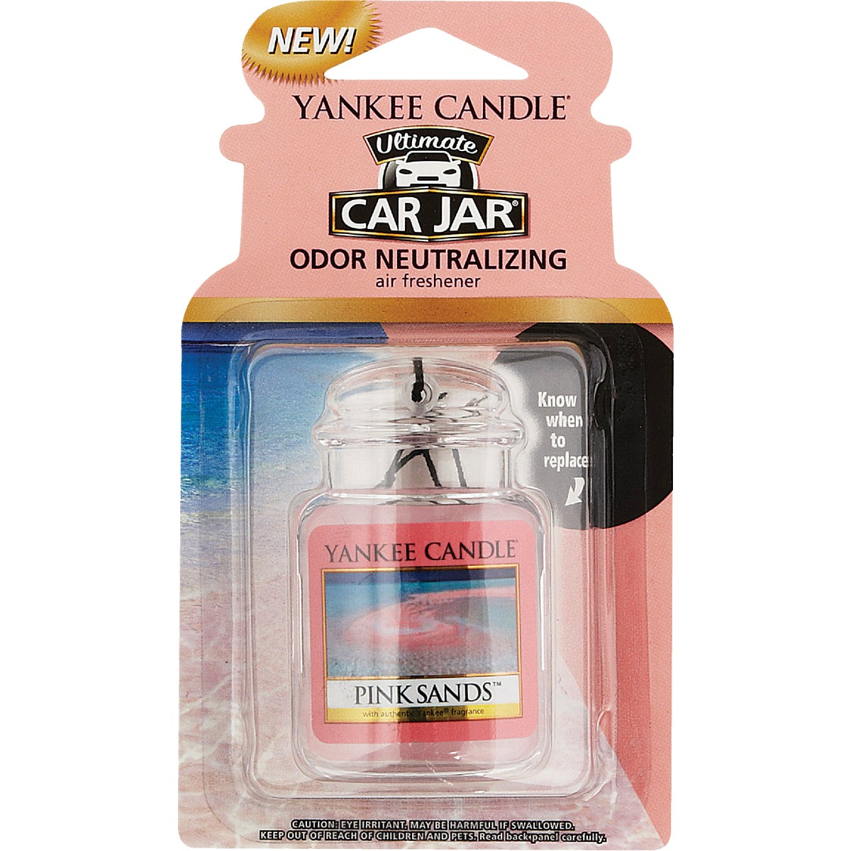 PINK SANDS ULTMT CAR JAR - 1238122 by Yankee Candle Co