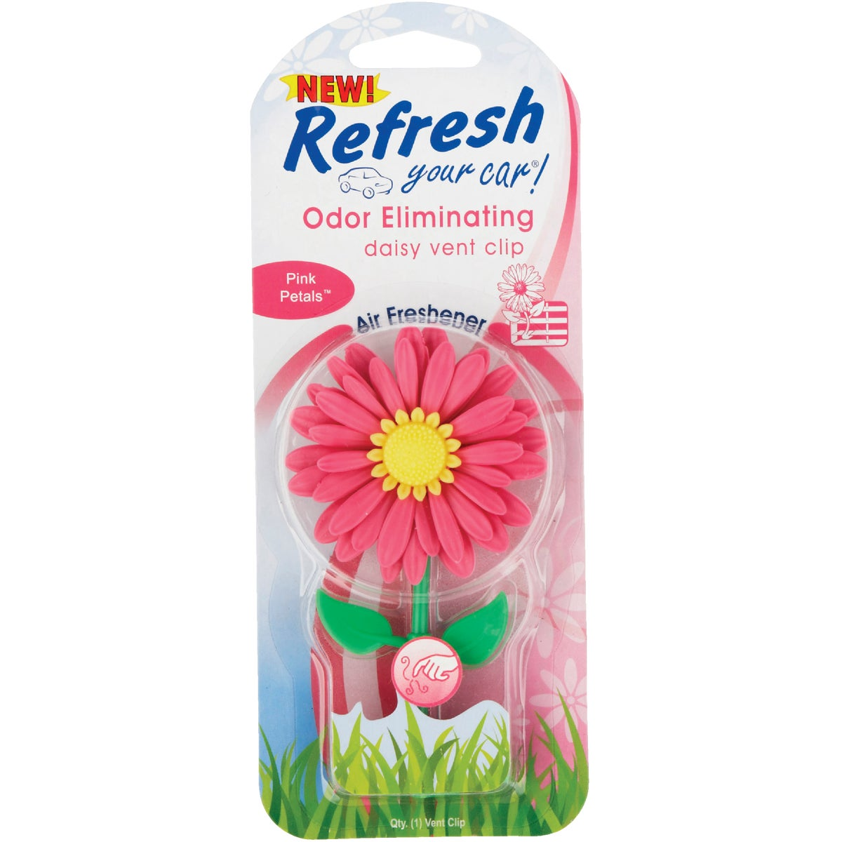 PINK DAISY AIR FRESHENER - 09312 by HandStands