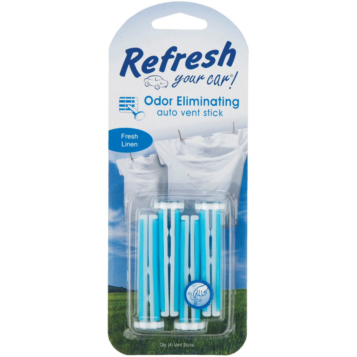 4PK FRESH LINEN STICKS