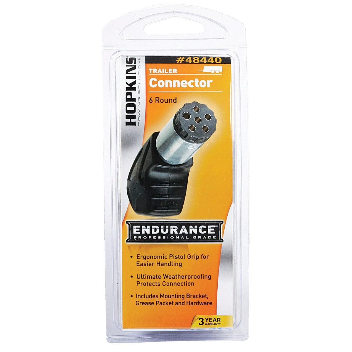 Endurance 6 Round Trailer Side Connector