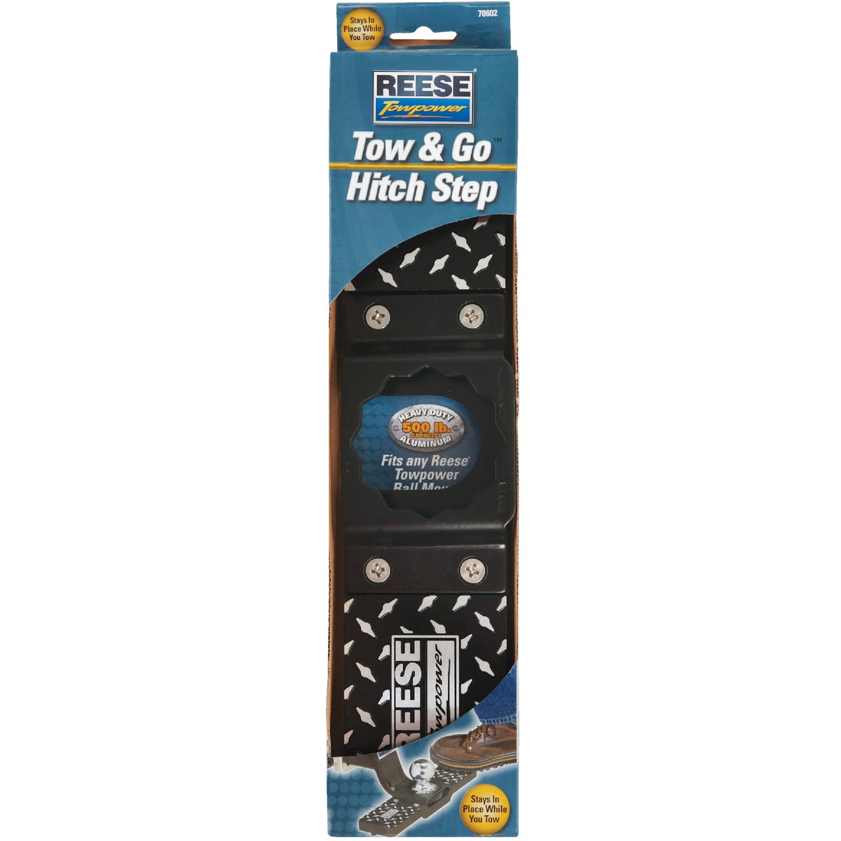 Tow & Go Hitch Step