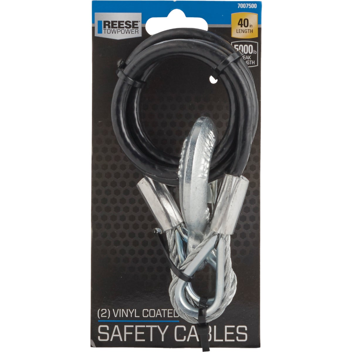 Safety Tow Cable