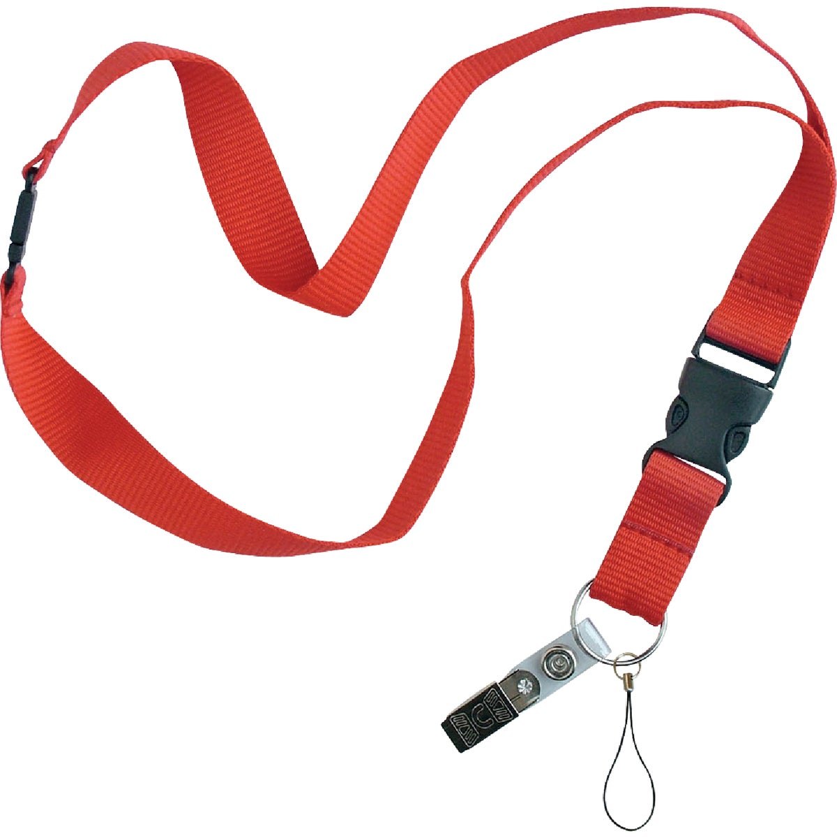 AST COLORS FLAT LANYARD - 64101 by Lucky Line Prod Inc