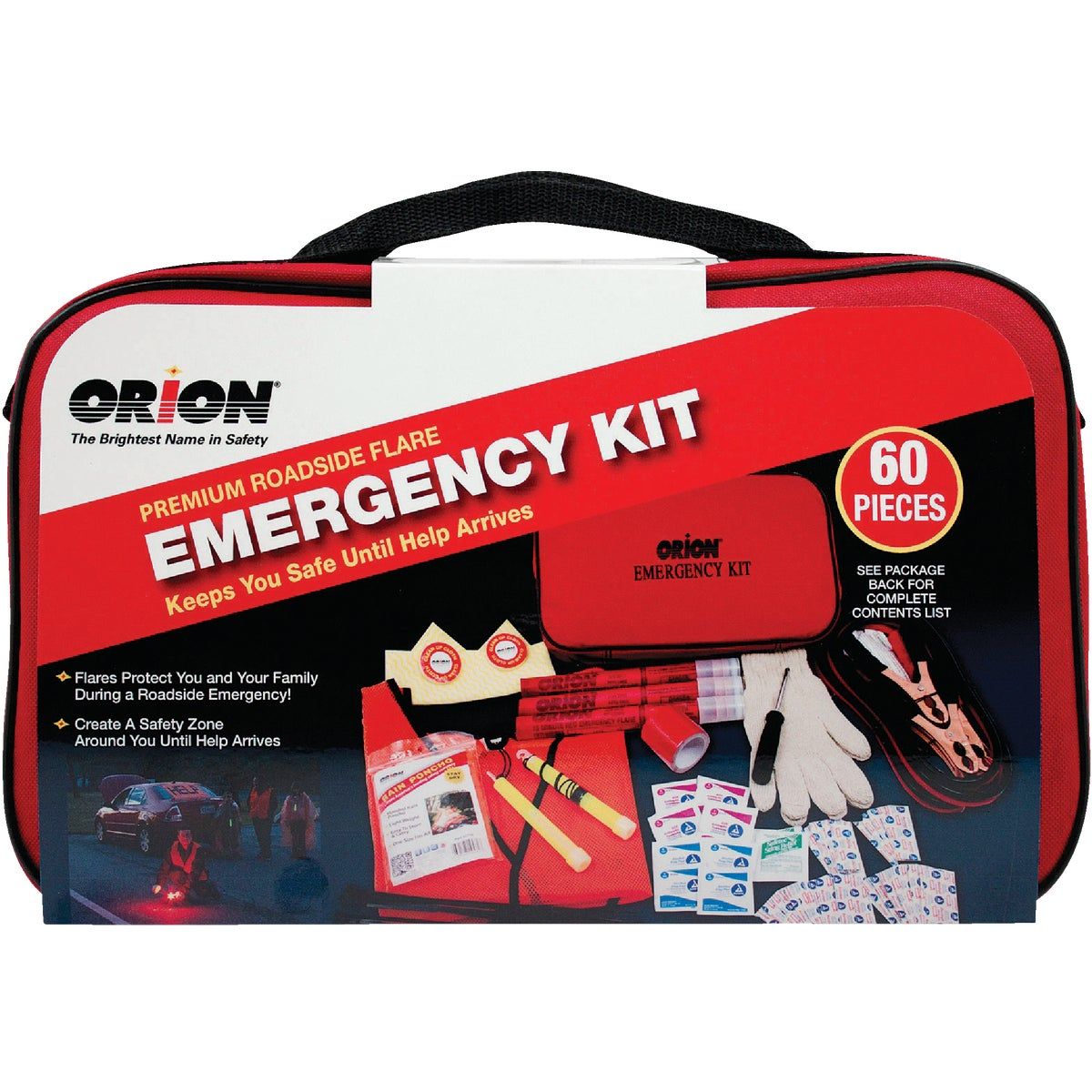 60Pc Prem Emergency Kit