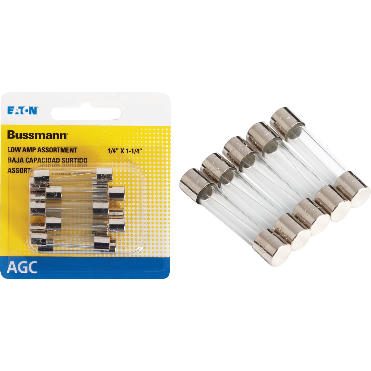 10PK FUSE ASSORTMENT - BP/AGC-AL10-RP by Bussmann Cooper