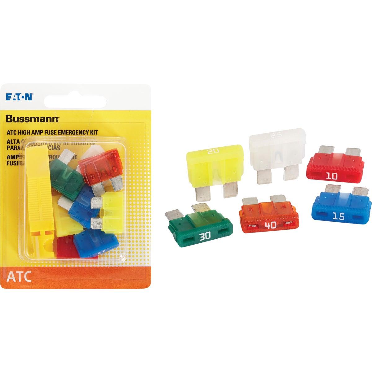 8PK FUSE/PULLER ASSORTMT - BP/ATC-AH8-RPP by Bussmann Cooper