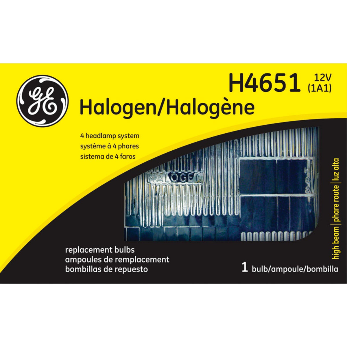 H4651 HIHALREC HEADLIGHT