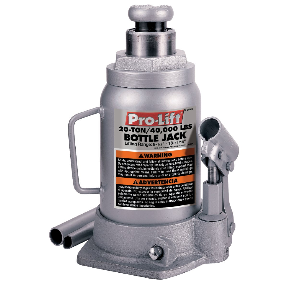 Pro Lift Bottle Jack Hydraulic 9 - 1/2