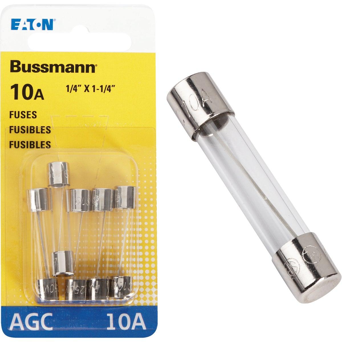 10AMP FUSE - BP/AGC-10-RP by Bussmann Cooper