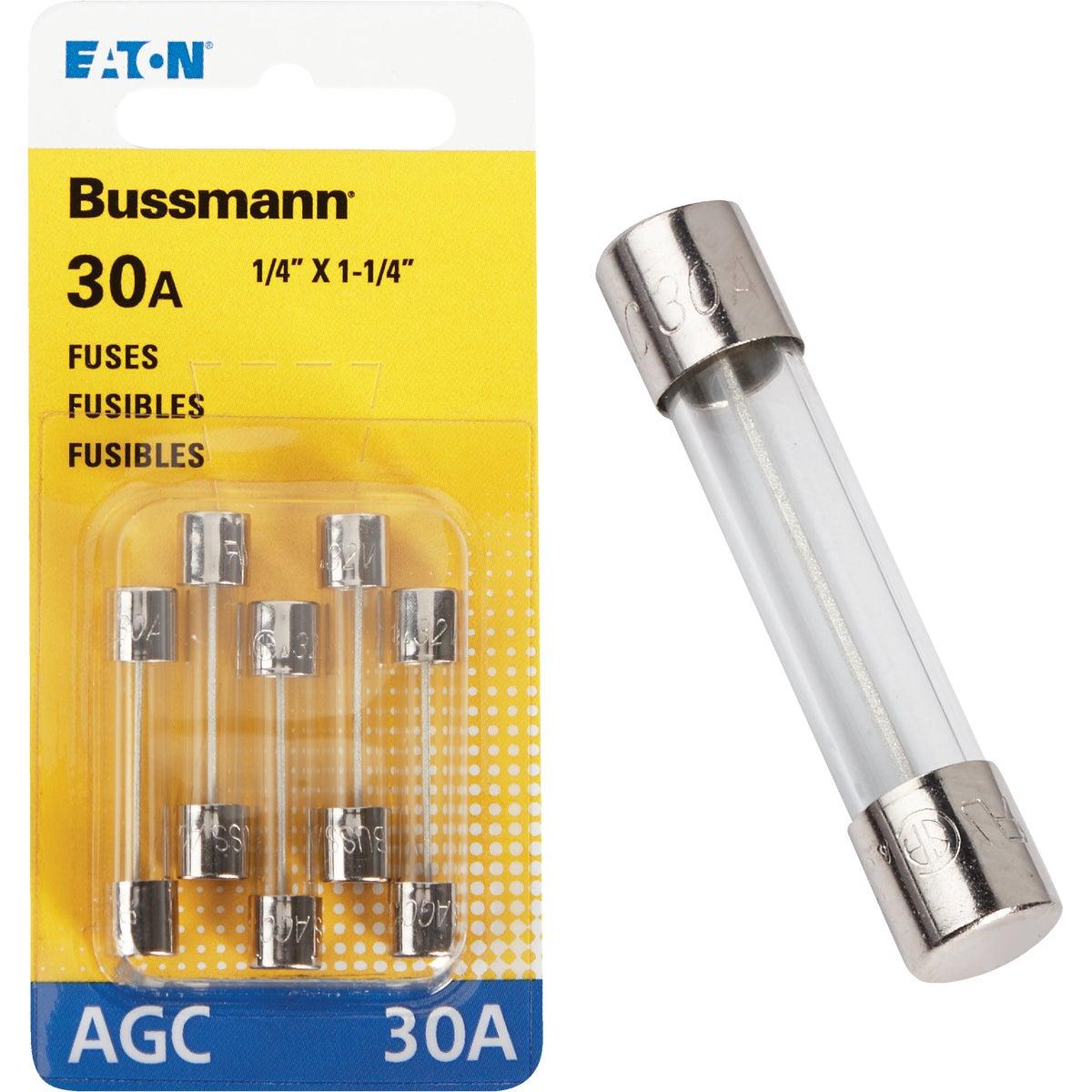 30AMP FUSE - BP/AGC-30-RP by Bussmann Cooper